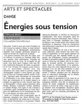 Lapresse_12nov.2003